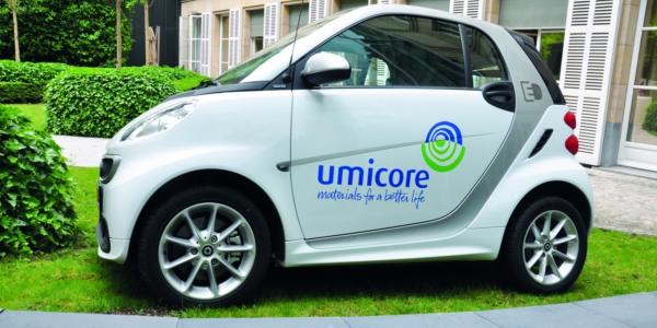 Umicore Electric Car