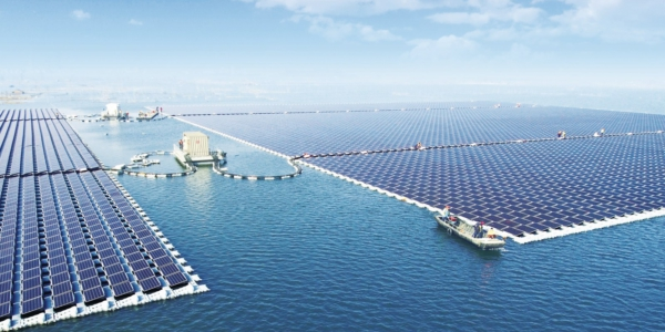 Worlds Largest Floating Pv Power Plant Huainan China Sungrow