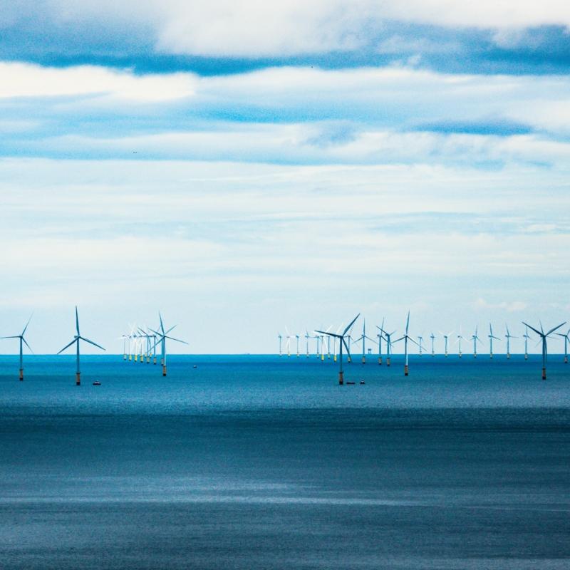 Darren Coleshill Windmolenpark In De Noordzee